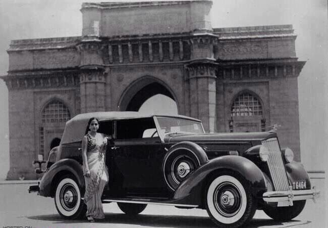 "Mumbai Heritage on Twitter: ""The lady seen in this pic, Miss Rosie ..."