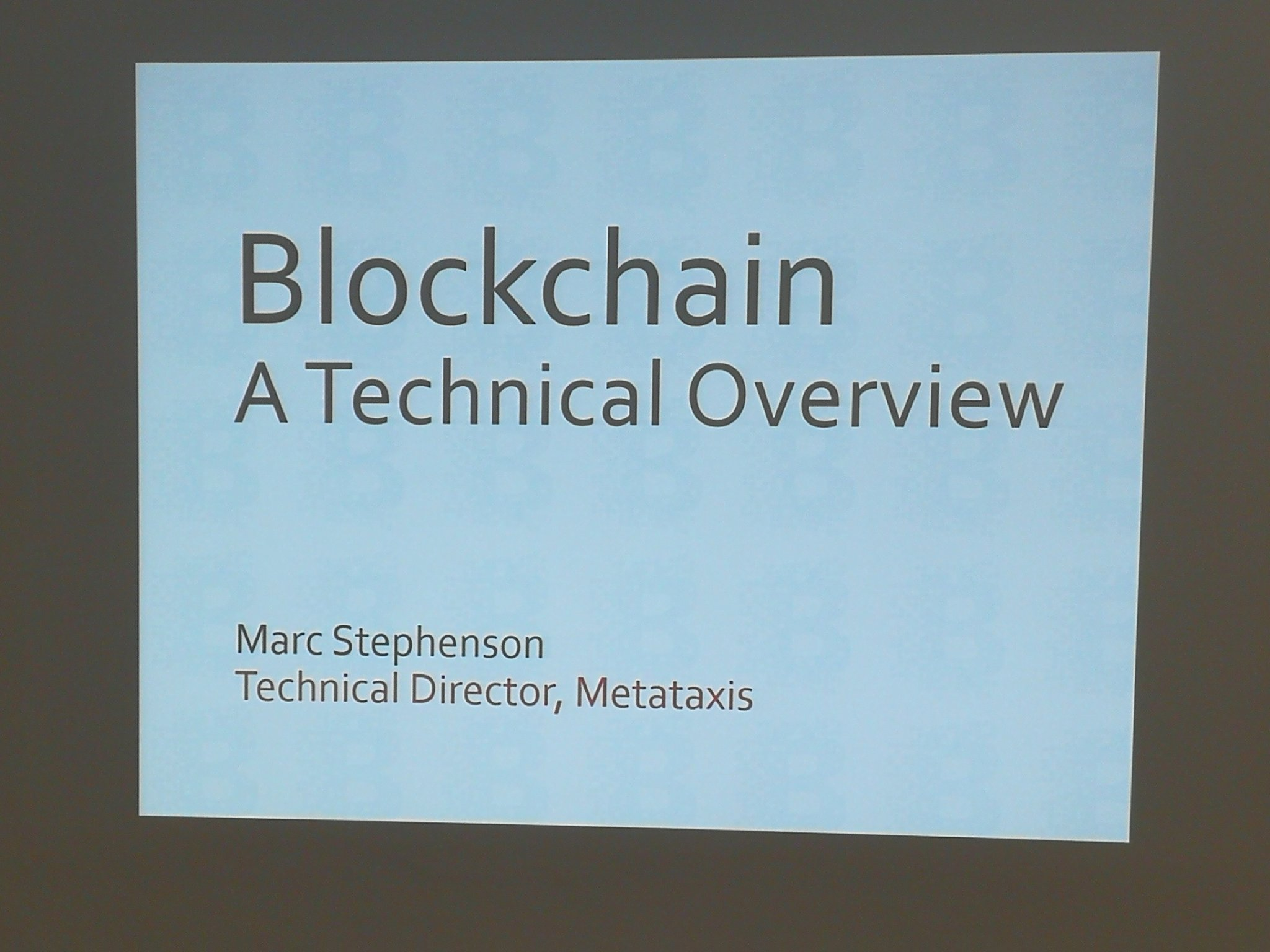 About to kick off a packed session on #blockchain #netikx86 https://t.co/W8knxBqyYo