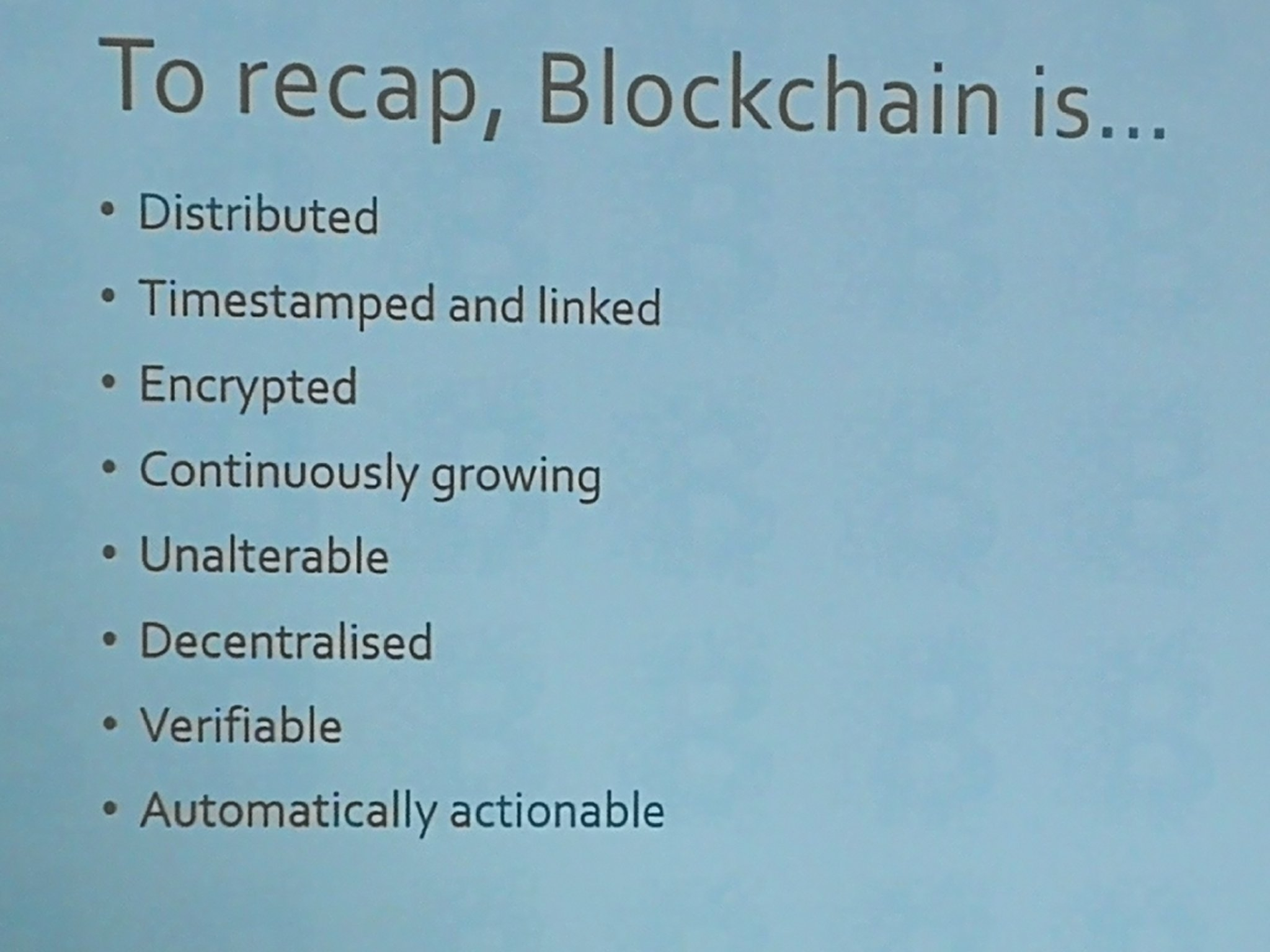 Whistle-stop tour of #blockchain concepts from @Metataxis #netikx86 https://t.co/IFUk6VNkLA