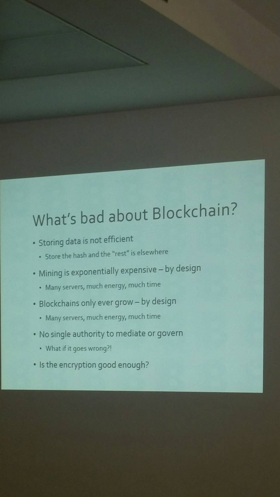 @maxleibman @tom_peters The Blockchain is ecologically bad for the environment. @netikx #netikx86 https://t.co/VFQWiwckfv