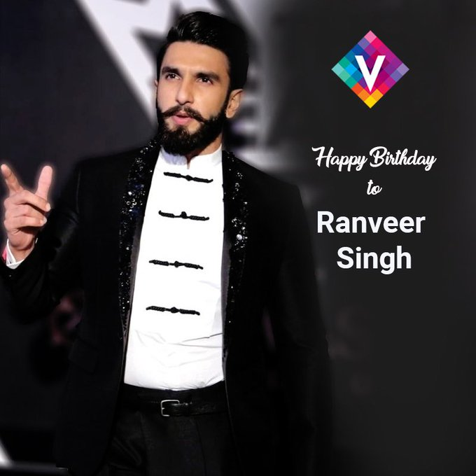 VDesi wishes our Bajirao Most Energetic Star Ranveer Singh A Very Happy Birthday!!!