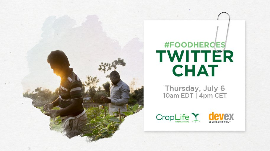 My colleagues at @fintrac are joining the conversation to talk #ag and what it will take to achieve #SDG2. Follow along at #FoodHeroes https://t.co/dkRP89OMOI