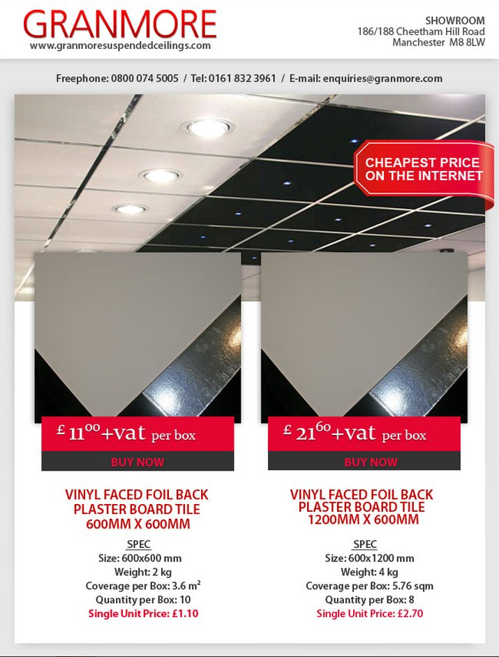 Granmore Ceilings On Twitter Check Out Our Vinyl Tile Great