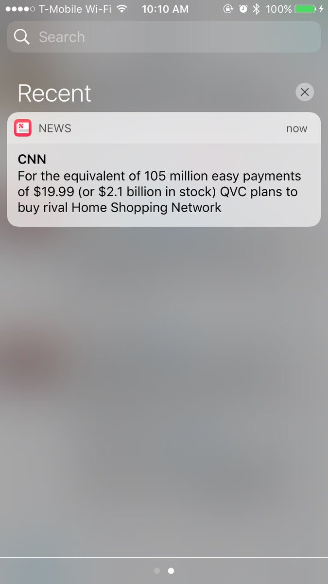 Whoa, QVC is planning to buy HSN.   Related: @CNN's headline writer deserves a raise. https://t.co/Bhvx0aW5Qy