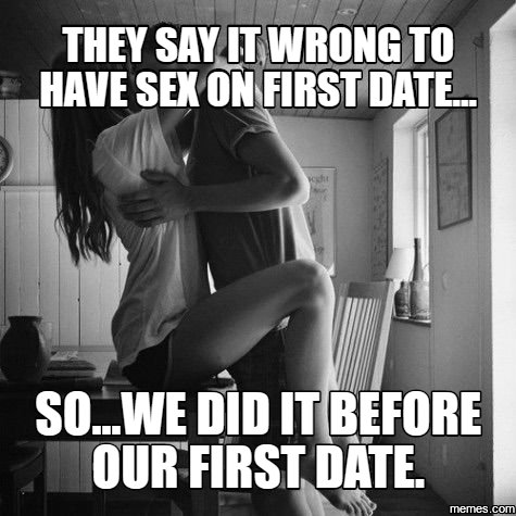 I had sex on the first date now what