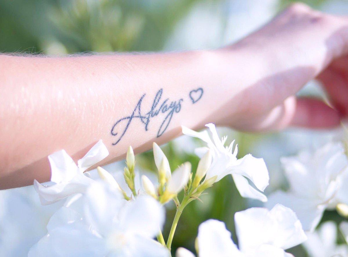 "Tatuaje Always y♡landa on twitter: ""always ❤ #loveyoli #loveyolipictures"