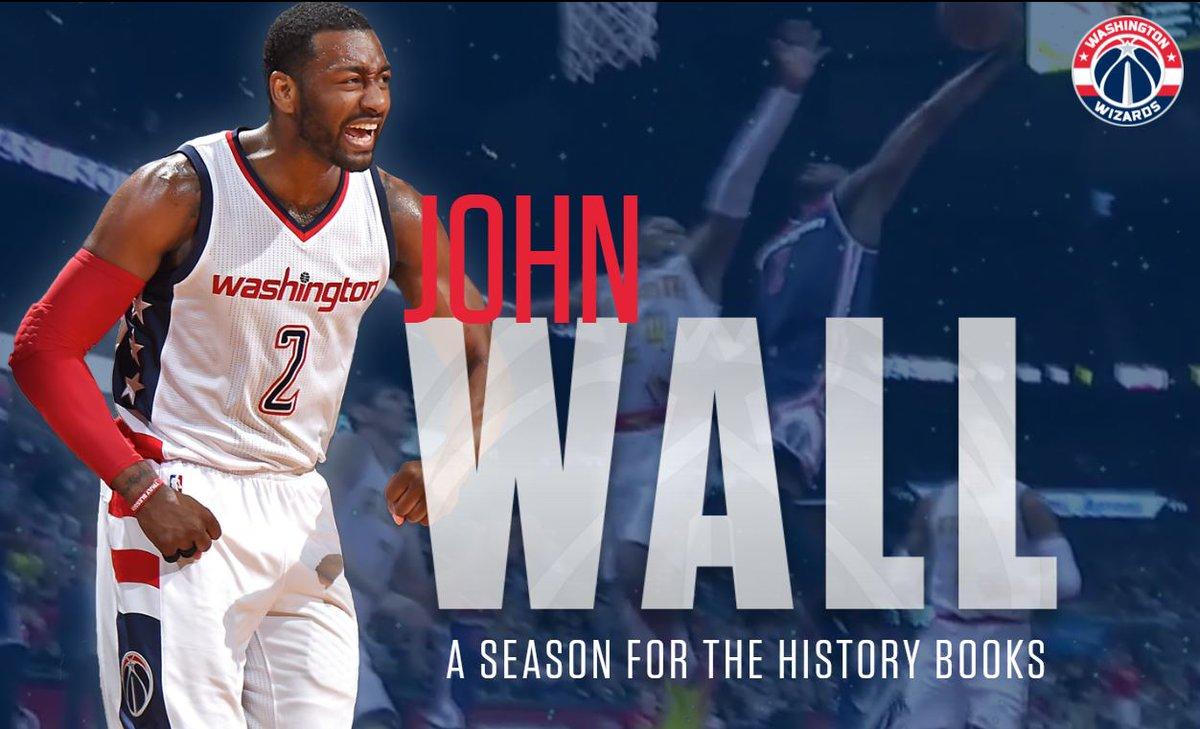 Looking back at @JohnWall\'s historic 2016-17 season!   🔗      #DCFamily