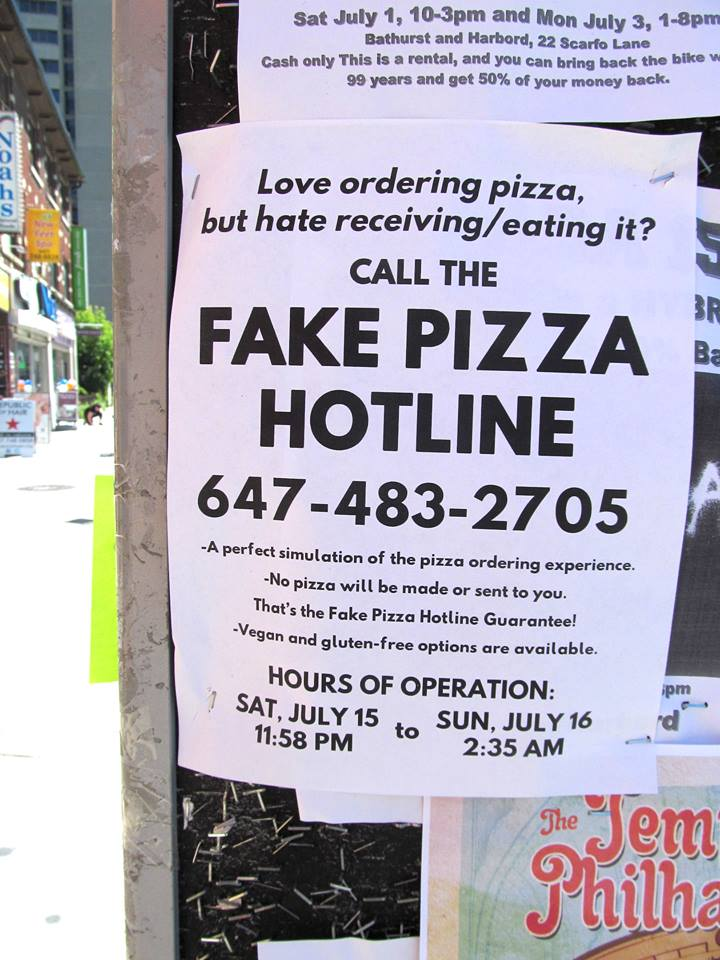 1236 On Twitter FAKE PIZZA HOTLINE Signs Seem To Have Proven