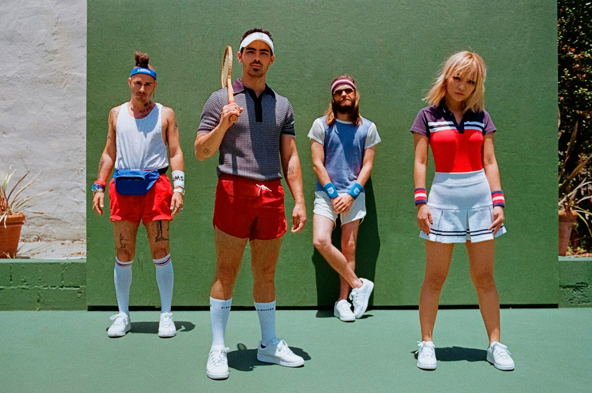Welcoming @DNCE to the K-Swiss Family! #kswiss #DNCE https://t.co/REdXwMURAo