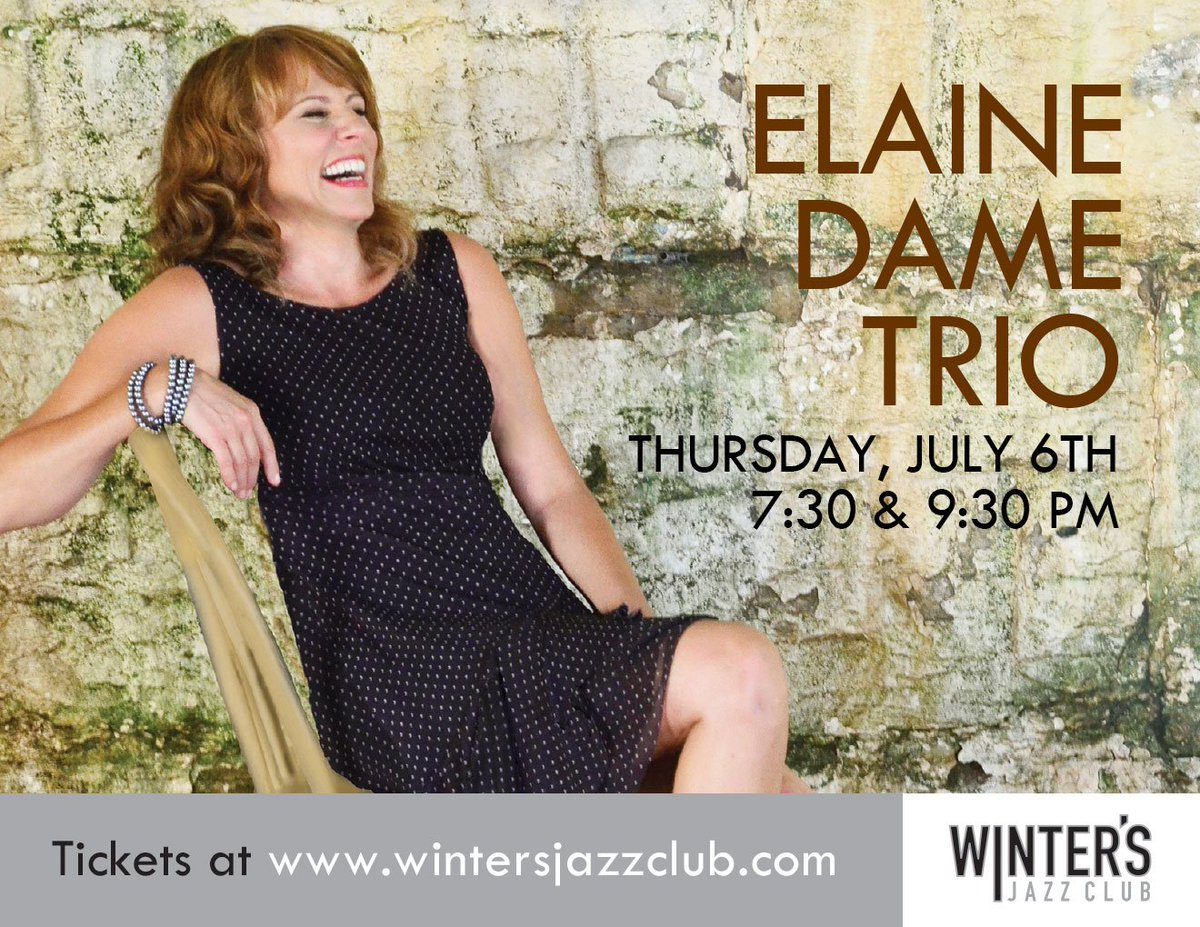 TONIGHT! FREE admission for Elaine Dame FIRST 20 tickets claimed! Use...