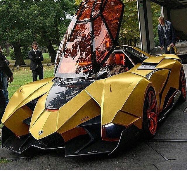 Superbia Automotive On Twitter Golden Lamborghini Egoista What