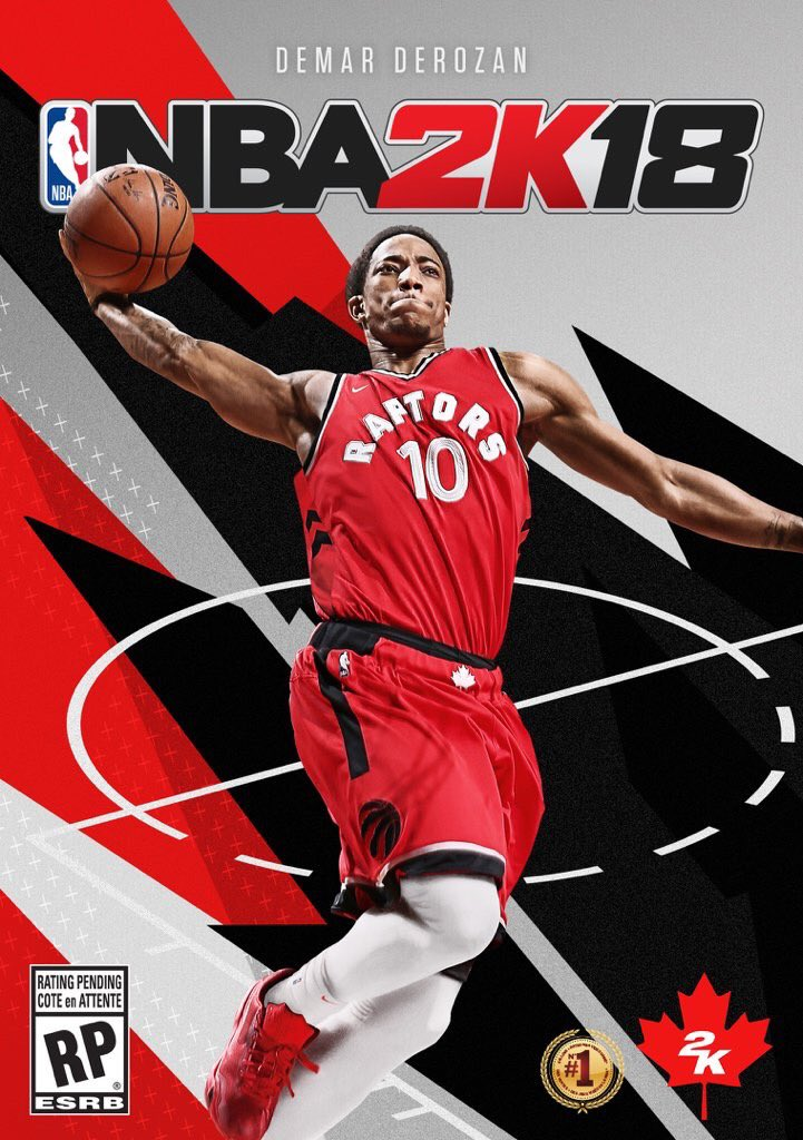 NBA 2k18 Canada cover