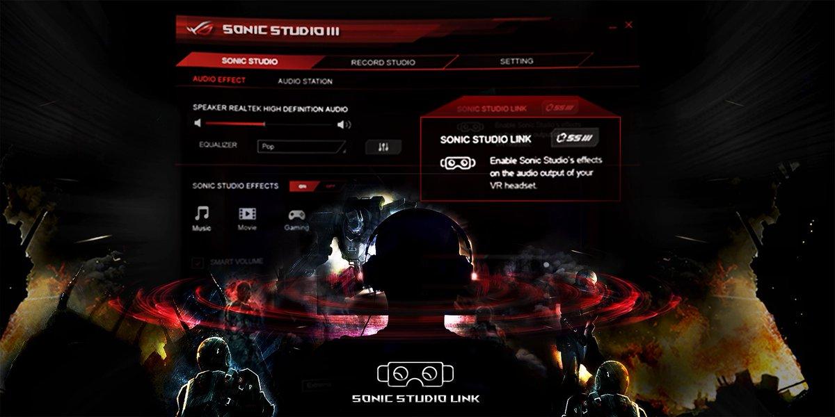 "mxasus a Twitter: ""ROG Sonic Studio III ahora incluye virtual 3D ..."