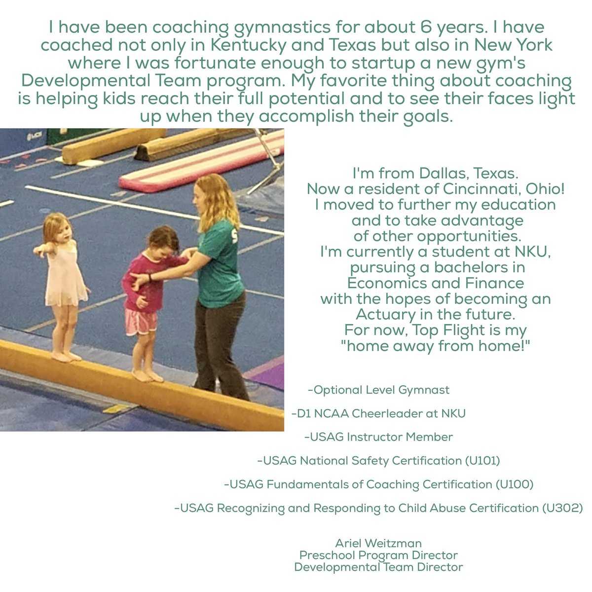 Topflight gymnastics on twitter join ariel topflighttfgym our topflight gymnastics on twitter join ariel topflighttfgym our preschoolers love her 1betcityfo Image collections