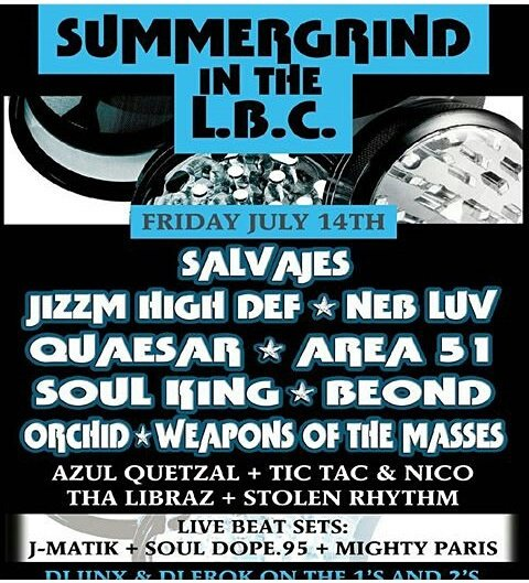 Next week!#LBC @JizzmHighDef #Salvages @NEBLUV @ItsBeOND #Weapons @SoulKing_SK @LAHipHopEvents #undergroundhiphop <br>http://pic.twitter.com/SFAsZQlp4R