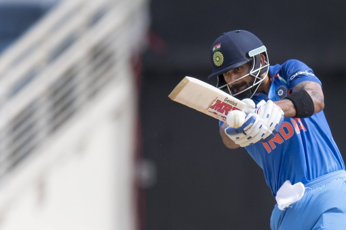 Another Virat Kohli century when chasing in ODIs helped India beat West Indies by 8 wickets to secure the #WIvInd ODI series 3-1