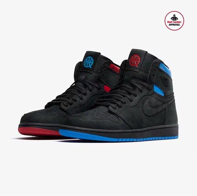 6a5e72d459304f ... order foot locker canada on twitter the air jordan 1 retro high quai 54  drops in