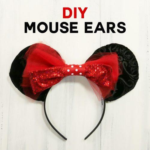 DIY Mouse Ears Tutorial