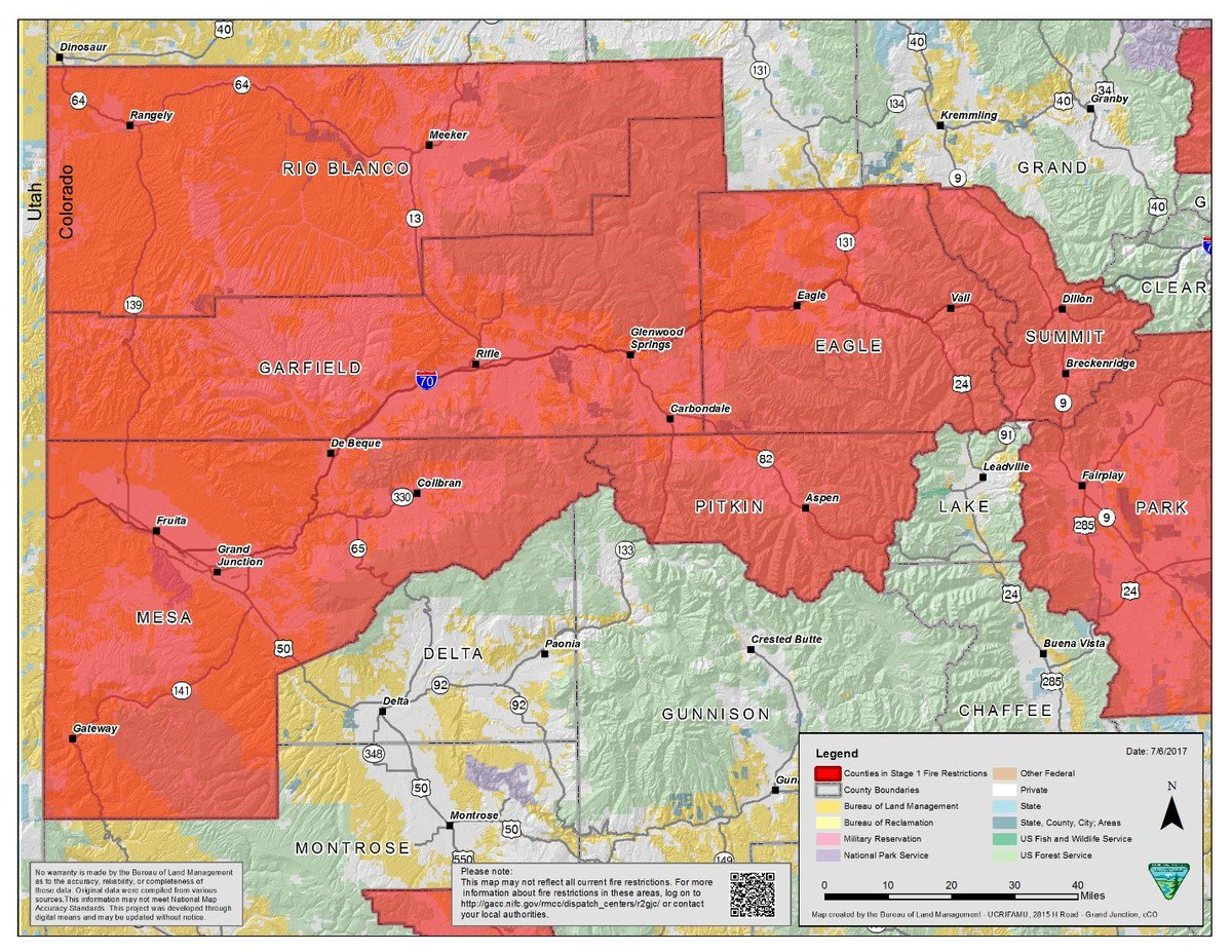 Blm Colorado Fire On Twitter Additional Fire Restrictions Begin In