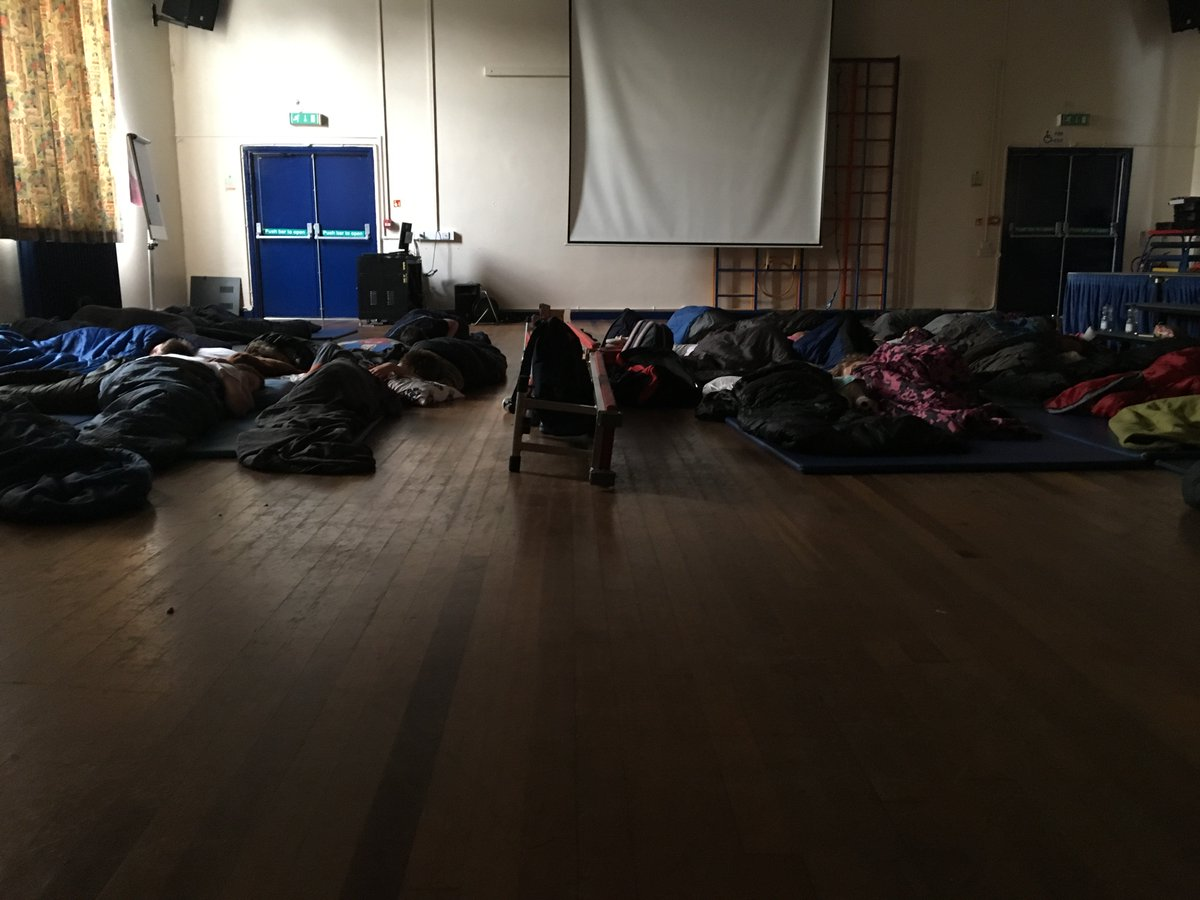 Year 6 get a good night's sleep before their trip! #bouncebelow #postsats