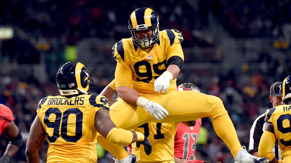 Michael Brockers to Rams Pay Aaron Donald Rams Fans United