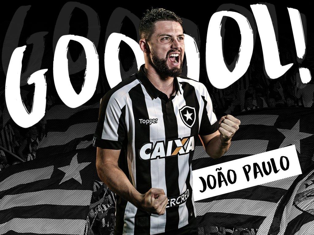 37'/1T - GOOOOOL DO FOGÃO!!!  JOÃO PAULO...