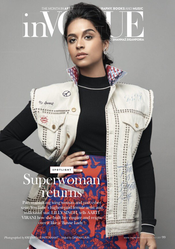 .@IISuperwomanII is here with @VOGUEIndia to tell us all about how she built her superwoman empire