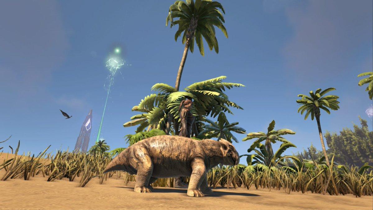 Ark生物紹介bot On Twitter リストロサウルス 草食手渡しテイムの