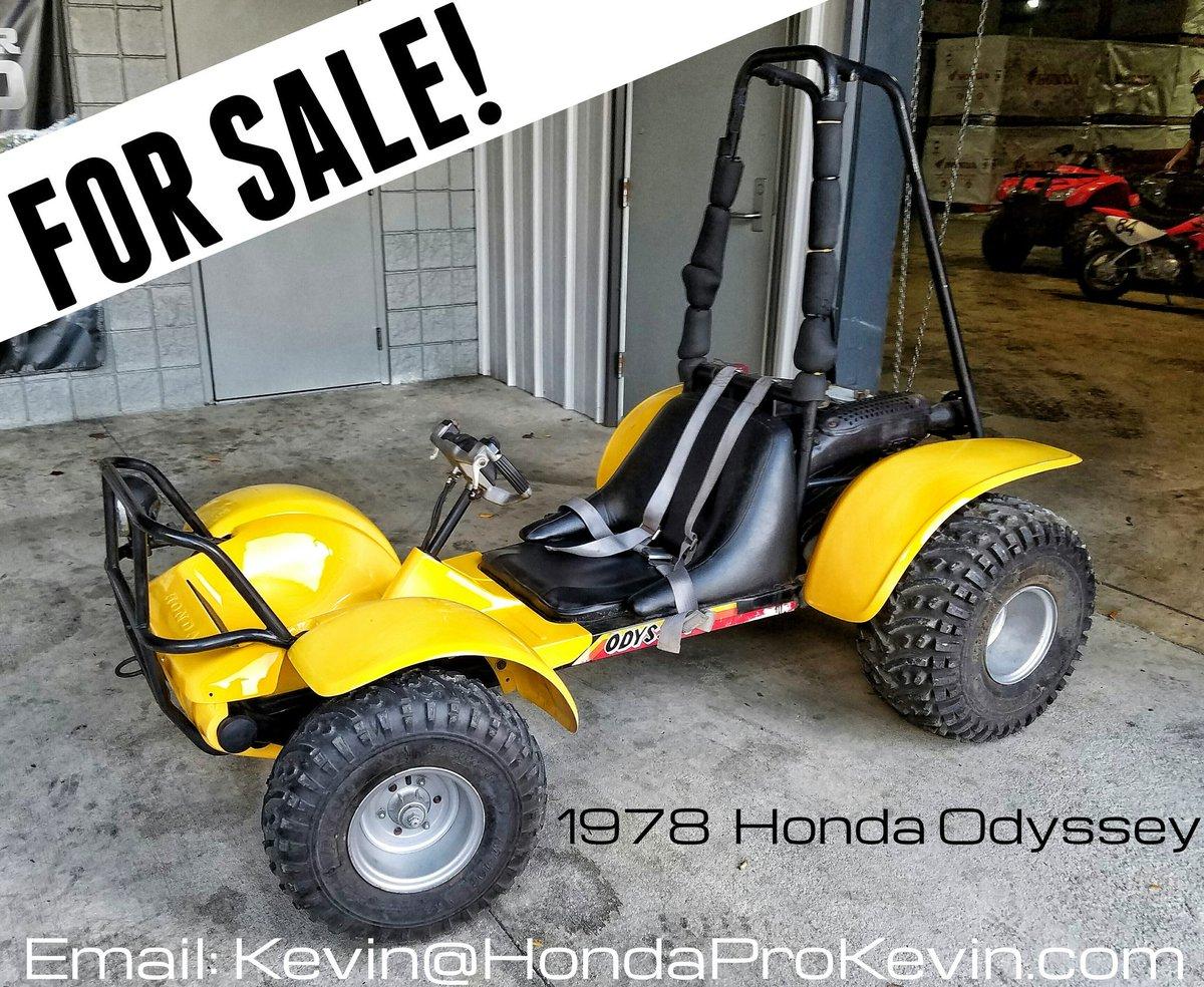 """HondaPro Kevin on Twitter: """"#ForSale 1978 #Honda #Odyssey ..."""