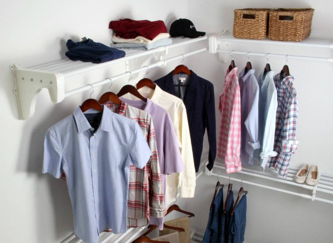 How to Create a Walk-In Closet in 1 Hour