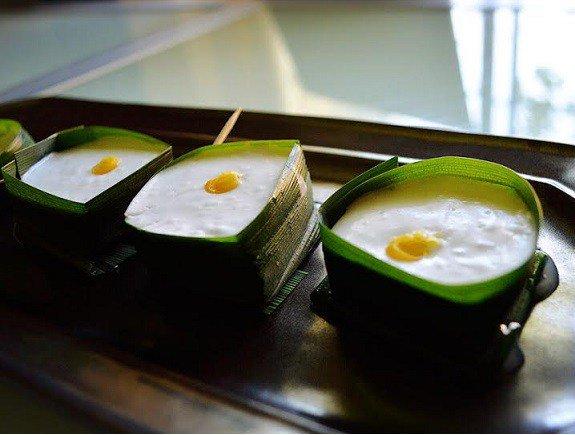 Thai Coconut Sago Pudding