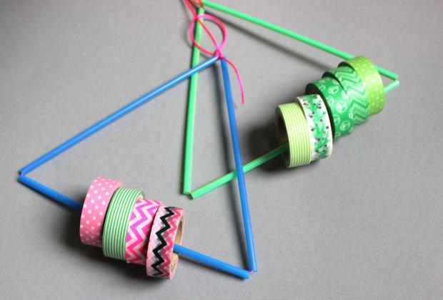DIY – Triangle Masking Tape Holder