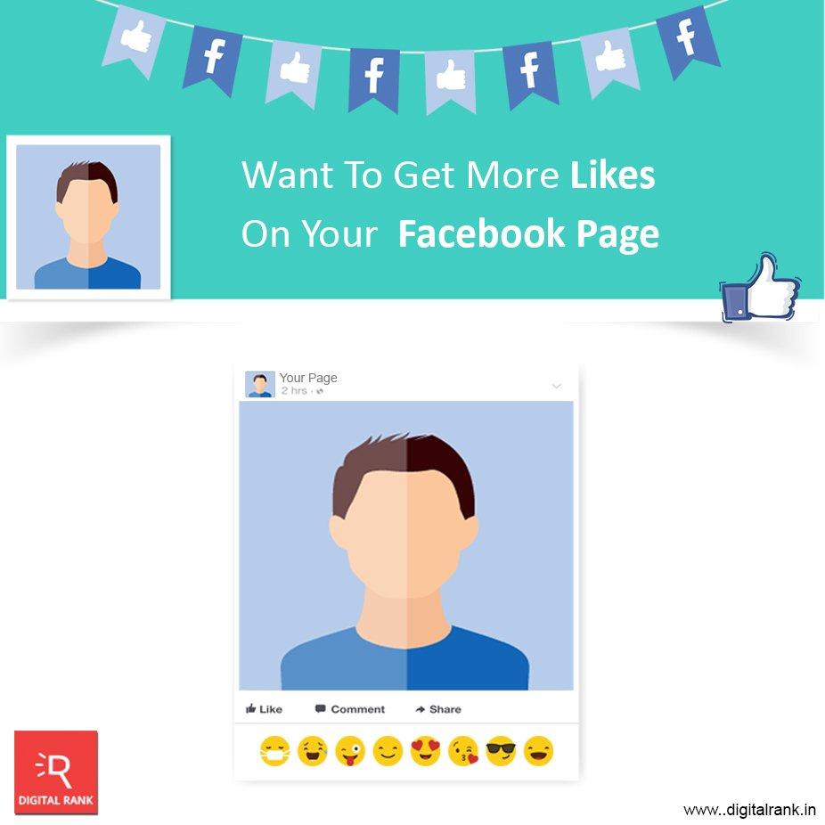 Want to get More Likes on your Facebook Page...!  http://www. digitalrank.in  &nbsp;   #facebook #socialmediabranding #socialmediamarketing<br>http://pic.twitter.com/fRIXScPkbT