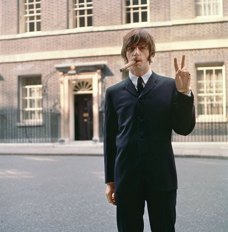 Happy Birthday Ringo Starr (@ringostarrmusic) - here's one from Downing St, mid 60's. https://t.co/tExkl14yp0