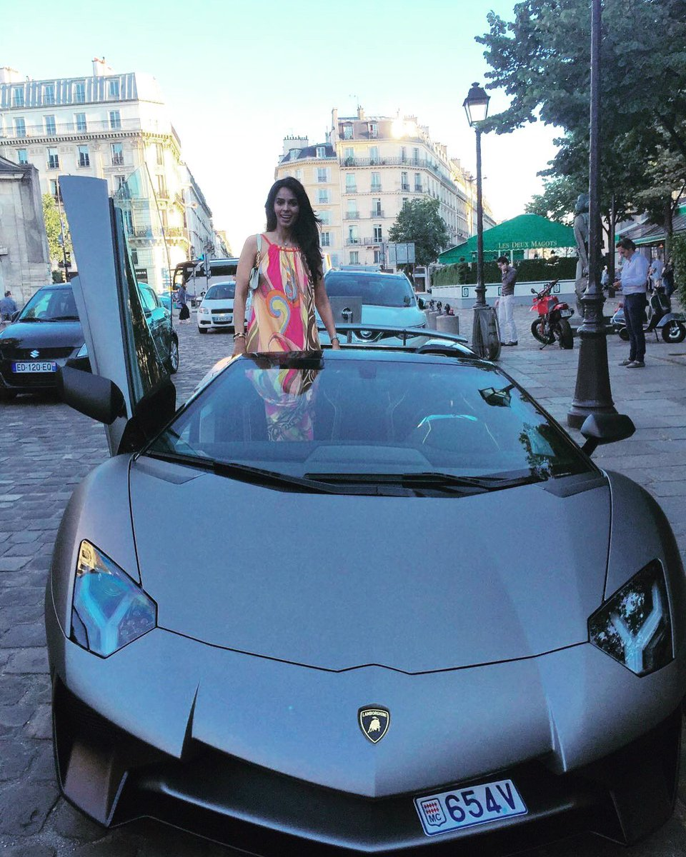 "Mallika Sherawat on Twitter: ""My favorite ride @Lamborghini ..."