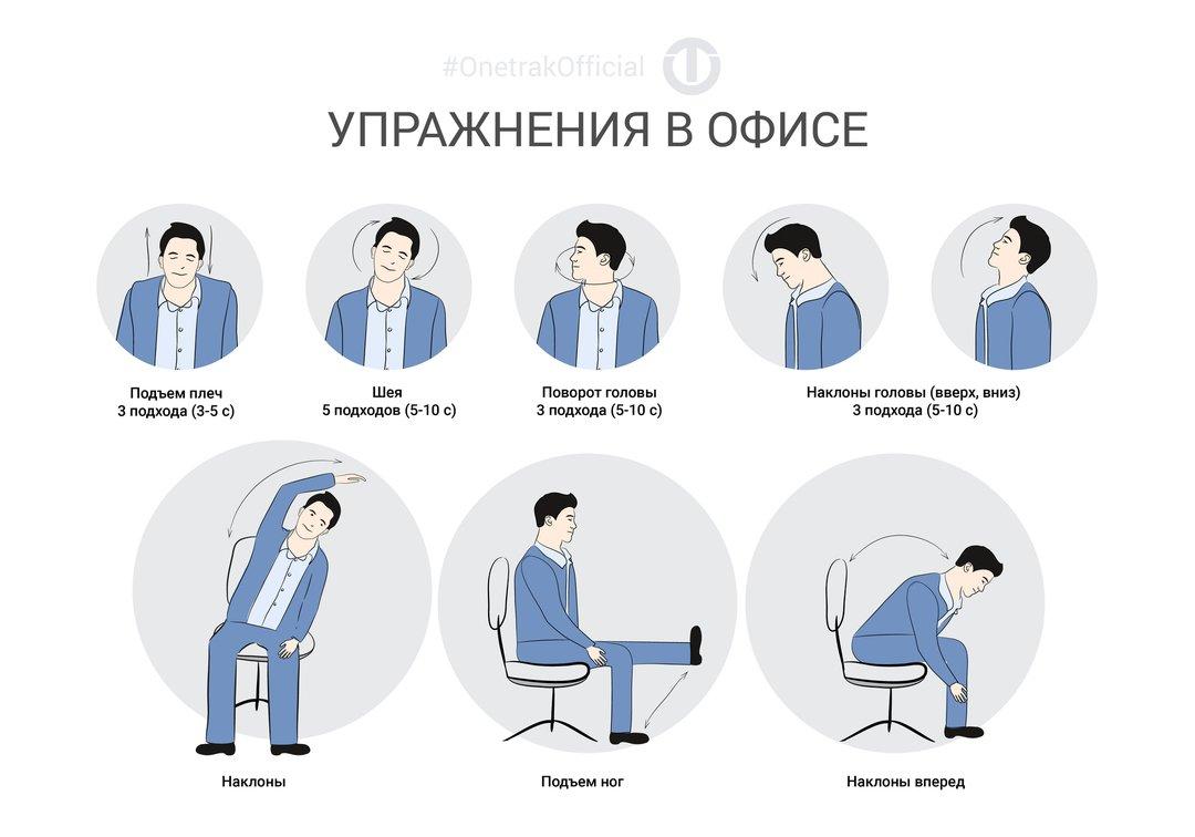 так сложно, упражнения за рабочим столом картинки притащила