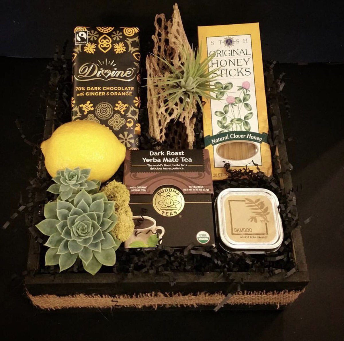 Aceofvase hashtag on twitter aceofvase does it again great giftbox love the succulents tea darkchocolate and of course wickdbeancandles great burbankfloristpicitter reviewsmspy