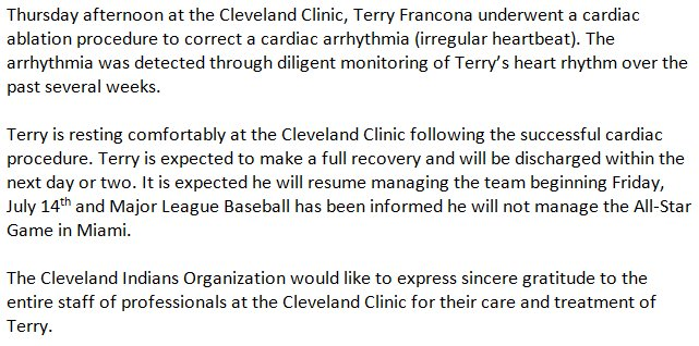 Cleveland Indians on Twitter: \