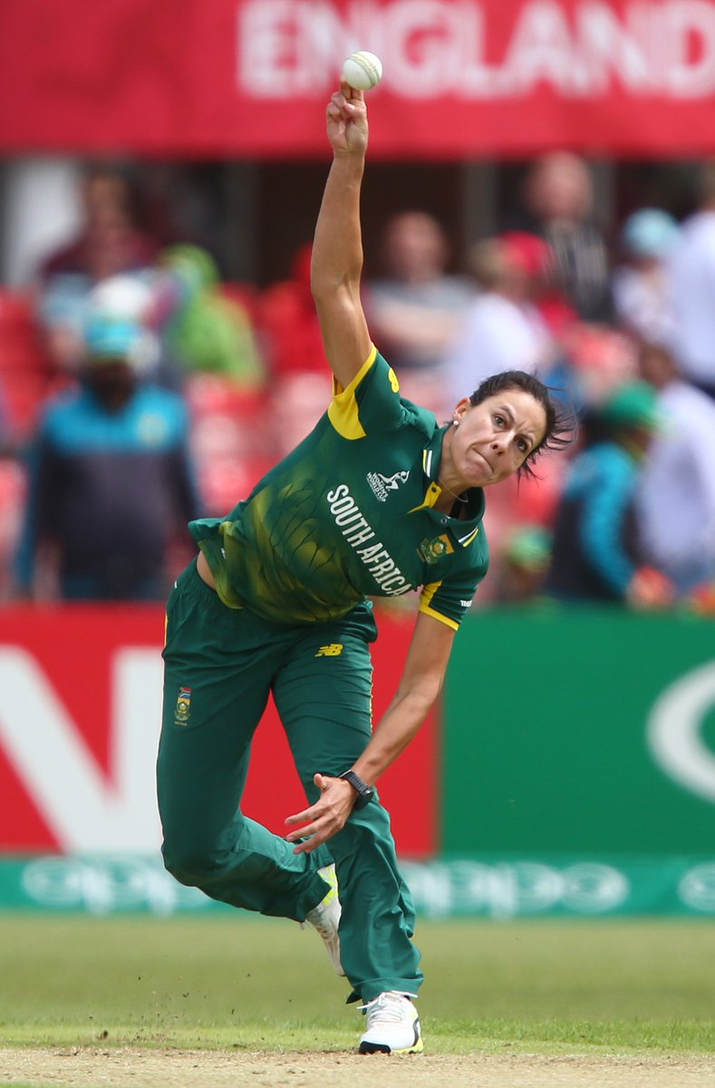 Cricket World Cup On Twitter No1 Ranked ODI Bowler Leading Wicket Taker At WWC17 OfficialCSA Kappie777 Is Certainly Living Up To Her