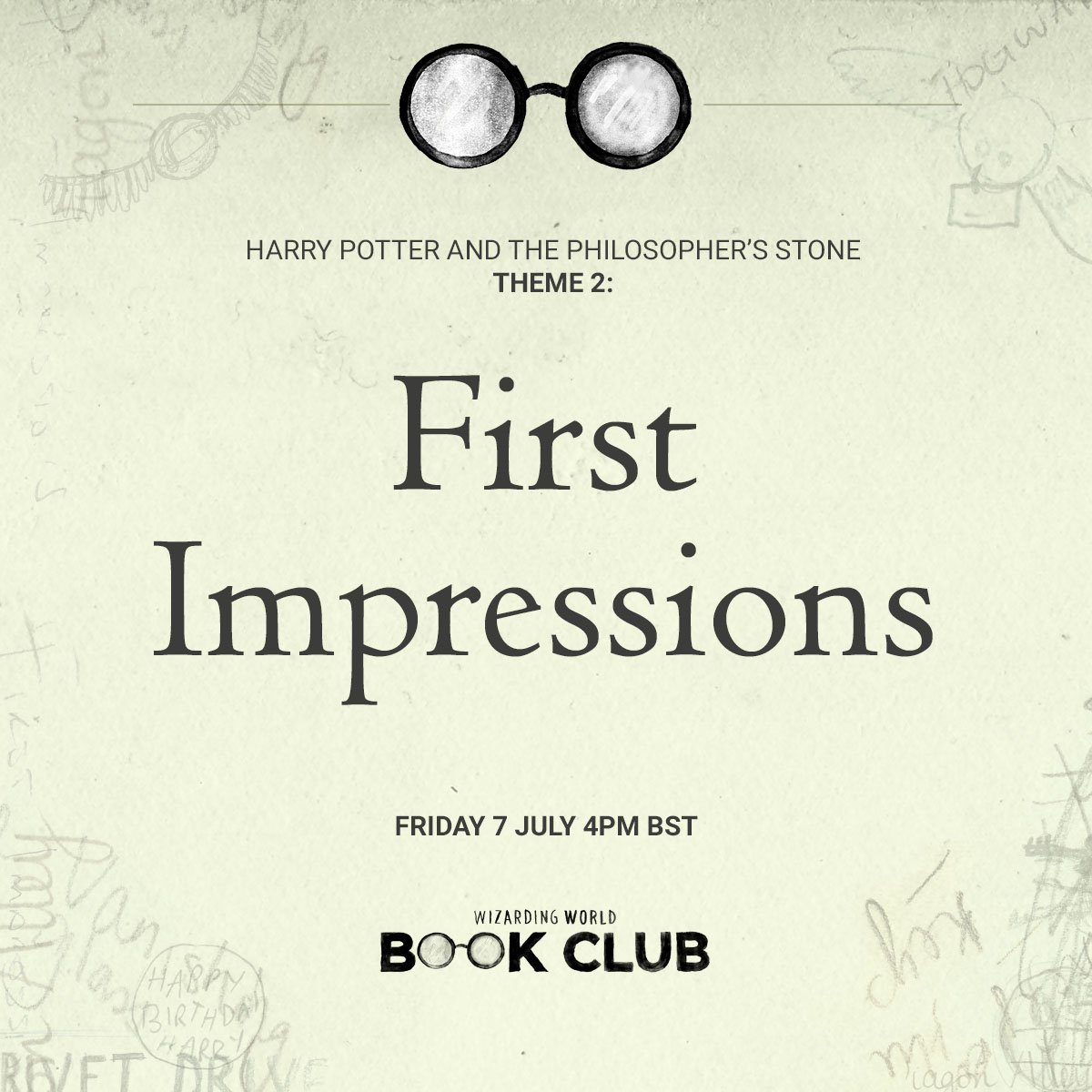 """4Pm Bst wizarding world on twitter: """"joined #wwbookclub? head to"""