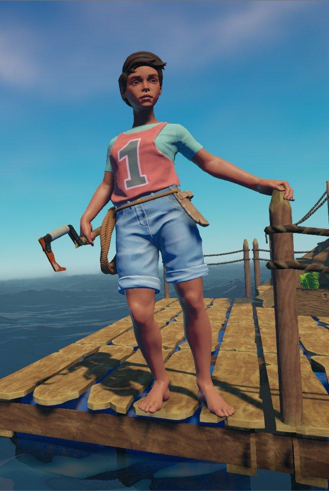 25 30 Helloo: Raft Survival Game (@RaftSurvivaGame)