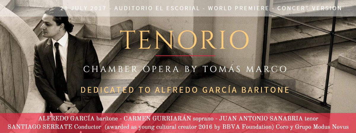 Calentando motores para alumbrar un #Tenorio de #TomásMarco #opera #donjuan