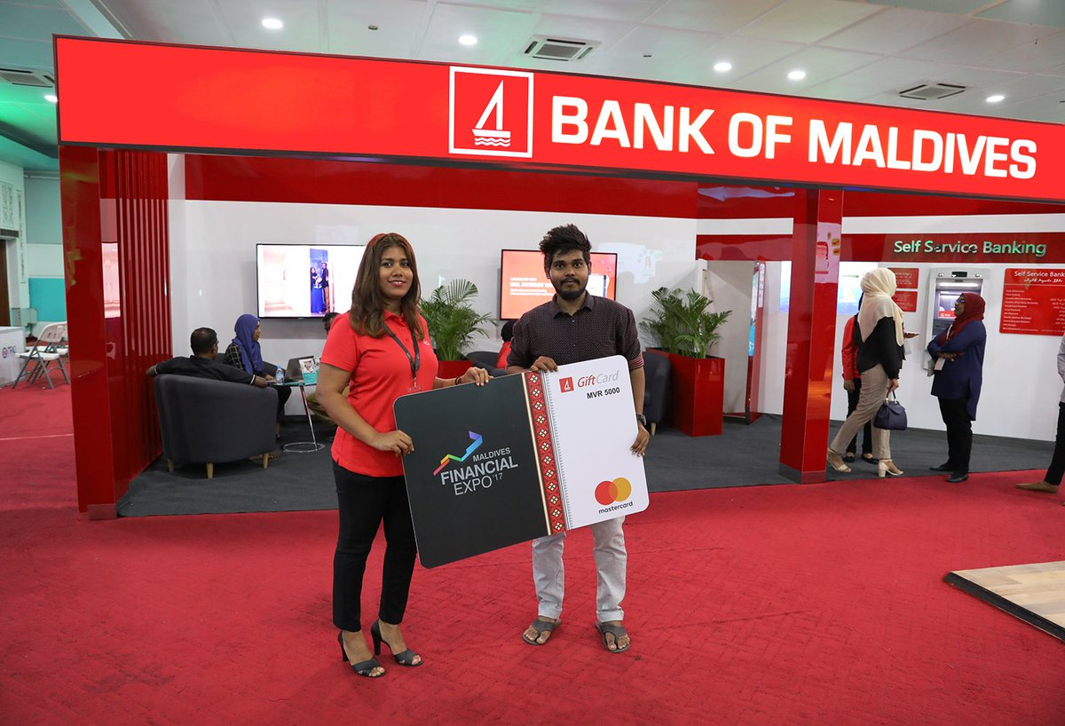 Bank Of Maldives On Twitter Congratulations To Nthaufeeq Who Won