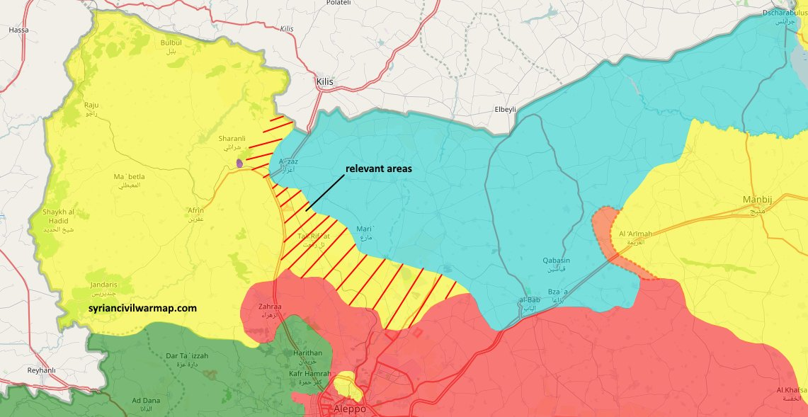 Syrian Civil War Map on Twitter Negotiations ongoing to allow the