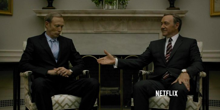 "Underwood and Petrov in ""House of Cards"" season 3 vs. Trump and Putin IRL"