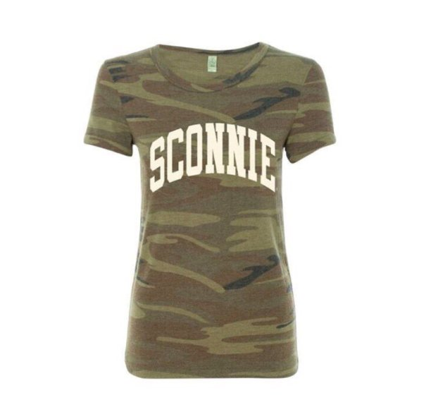 Anything of or relating to Wisconsin. Sconnie is an identity. It can be used as a noun or an adjective. You don't have to be from Wisconsin to appreciate the Sconnie movement. It's all about embracing and celebrating this genuinely Wisconsinesque. If you like eating a brat and cheering for the Packers, you know what I'm talking about.