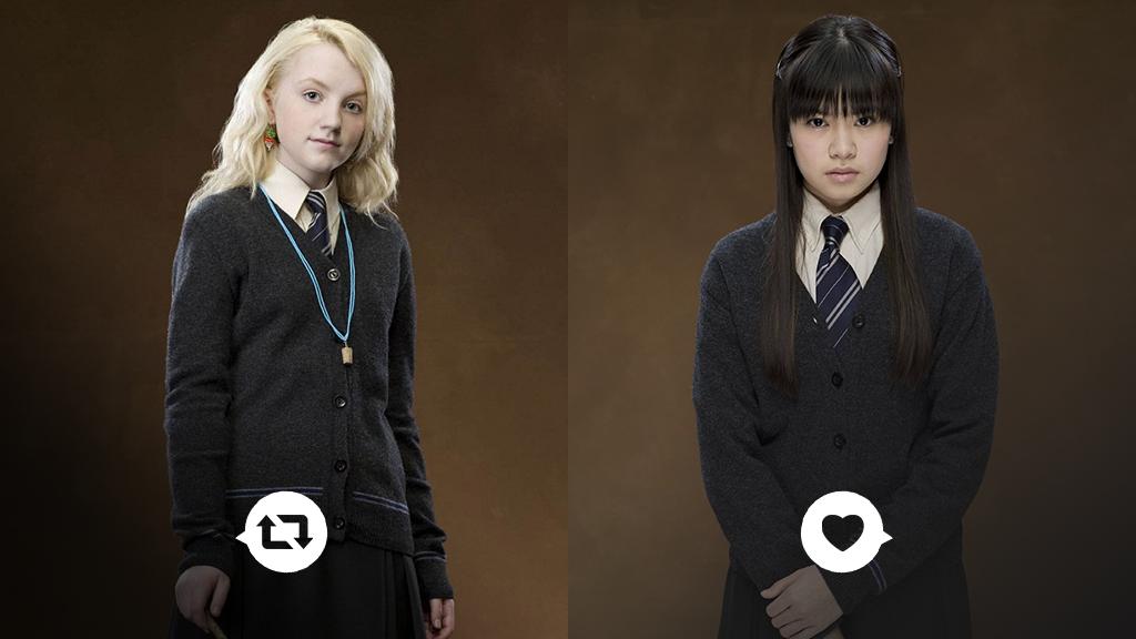 29 best Harry Potter images on Pinterest | Hogwarts, Luna ...  |Luna Lovegood And Cho Chang