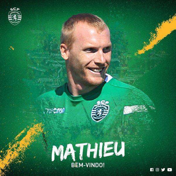 #SportingCP chegou a acordo com o jogador Jérémy Mathieu   Sabe mais em https://t.co/jKYyNXw7fE