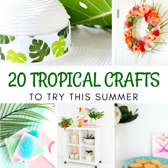 20 Tropical Crafts to Try This Summer