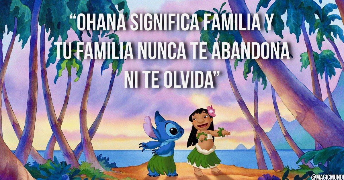 Mundos Mágicos On Twitter Tu Familia Nunca Te Abandona Ni Te